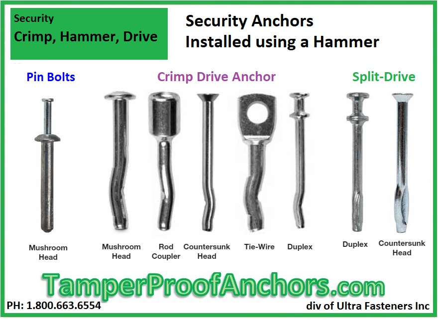 Hammered Security Anchors